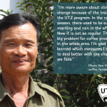 UTZ coffee farmer quote Pham van Hoan Vietnam