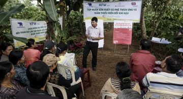Training on climate change adaptation and mitigation in Vietnam