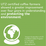 Impact on better environment in the coffee sector in colombia