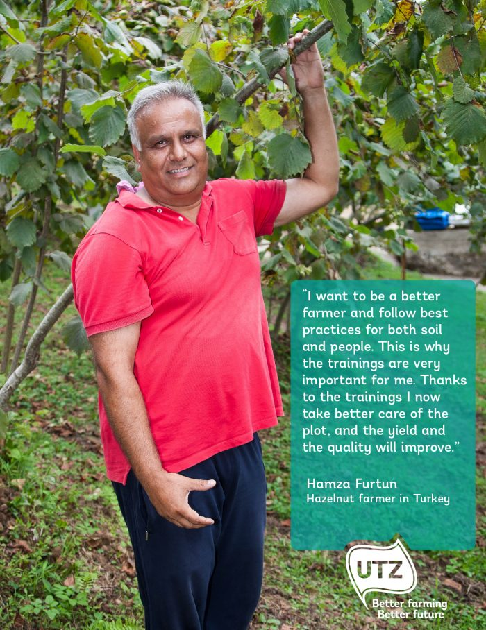 Hazelnut farmer quote Hamza Furtun Turkey