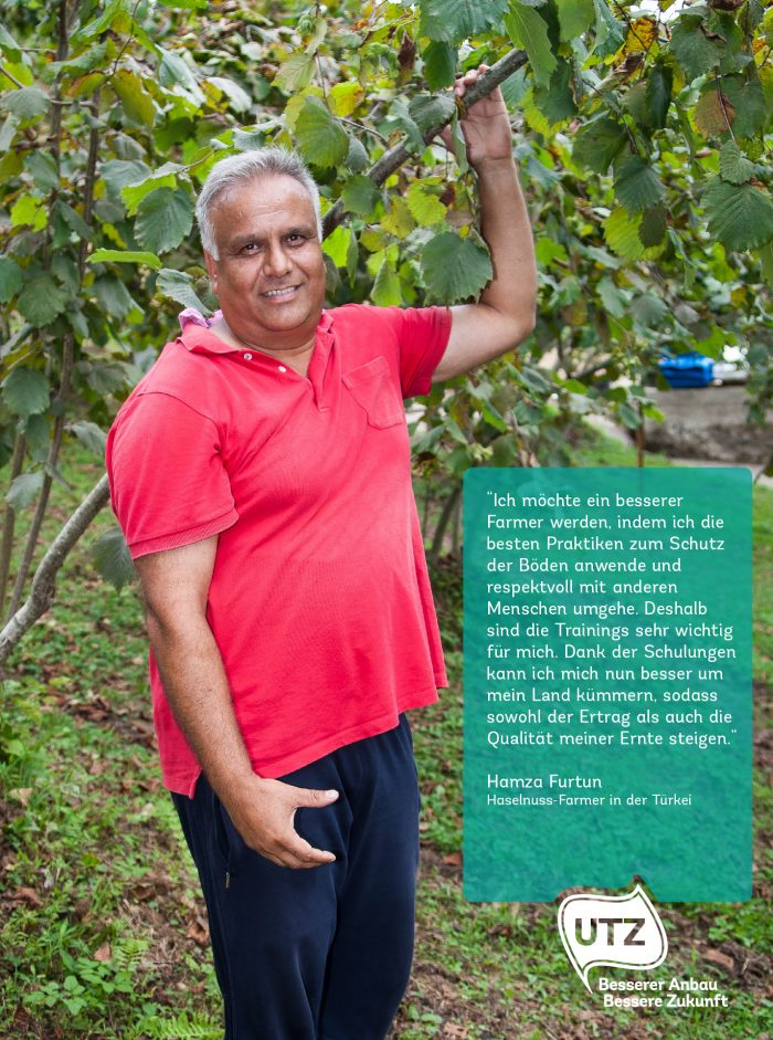 Hazelnut farmer quote Hamza Fortun Turkey