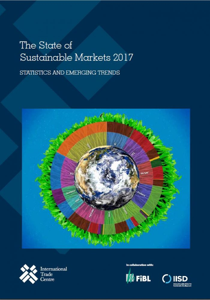 Front page report 2017 State of Sustainable Markets