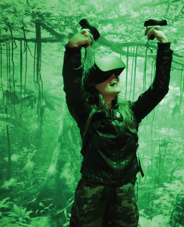 Image during the Tree VR experience