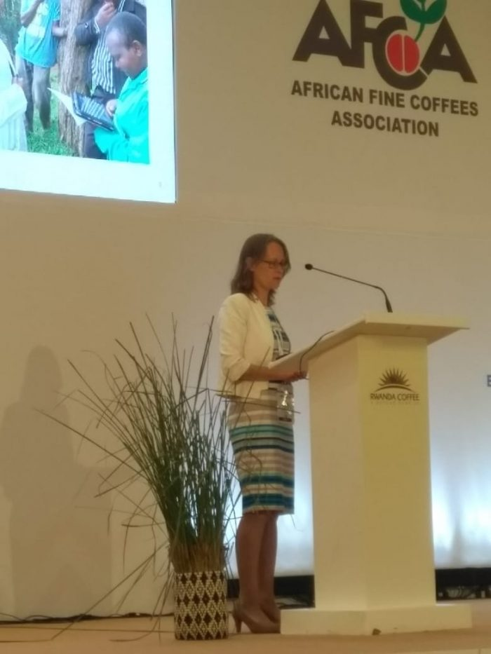 Ria Stout speech at AFCA Sustainability Day 2019